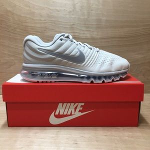 "Nike AIR MAX 2017 Running Shoes ""Pure Platinum"""